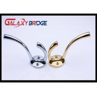 Gold Plated Cloth Hanging Hooks , Solid Wall Cap  Hanger Bag Hooks Bathroom Accessorie Towel Rack Manufactures