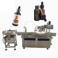 Cbd Oil Filling Machine Liquid Filling And Capping Machine Manufactures