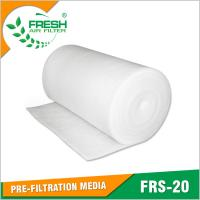Buy cheap FRS-20 EU2/G2 arrestance pre-filtration air filter media rolls from wholesalers