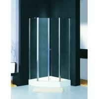 Corner Glass Shower Enclosure 1000 X 1000 Square Shower Stall Pivot Door Manufactures