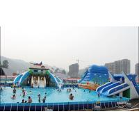 Large Printing Logo PVC Tarpaulin Inflatable Family Pool For Family Exercise Manufactures