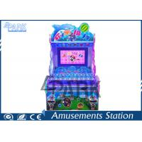 Attractive Dolphin Design Redemption Game Machine Happy Pitch Balls For Kids Manufactures
