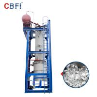 60 Tons Per Day Ammonia Refrigerant Ice Tube Machine 12 Months Warranty Manufactures