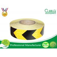 5 CM x 25 M Reflective Safety PE Warning Tape Sticker Roll Film for Trailer / Camper Manufactures
