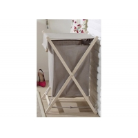 BSCI 67cm Height Laundry Basket Hamper With Lid Manufactures