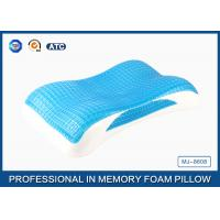 Best Memory Foam Cool Wave Contour Side Sleeper Pillow with Luxury Tencel Pillow Cover Manufactures