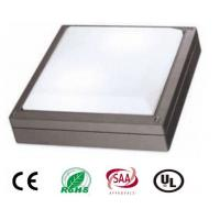Quality 20W Square Outdoor LED Wall Light With Philips Chip , High Power IP65 Led Wall Pack Light for sale