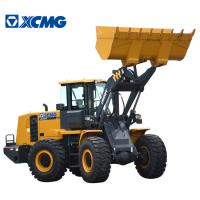 XCMG 4 Ton Compact Wheel Loader , Medium Wheel Loader Yellow Color Manufactures