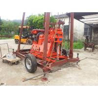 Trailer mounted water well drilling rig Manufactures