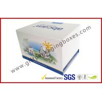 Fashion Coated Paper Board Box, Rectangle Printed Rigid Gift Boxes For With Custom Logo Manufactures