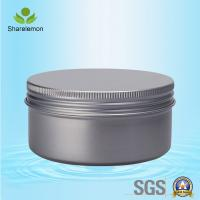 200g Aluminum Jars , Beauty Product Jars for Hair Conditioner with Screw Caps Manufactures