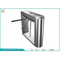 Automatic Entrance Tripod Turnstile Gate / Half Height Speed Gate Systems Manufactures