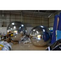 Charming Sport Helium Advertising Balloons Mirrored Inflatable Round Ball Manufactures