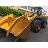 SDLG LG956L Compact Second Hand Wheel Loaders Front End With Log Grapple Manufactures