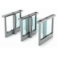 High Speed Swing Barrier Gate, 304 Stainless Steel Counter Turnstile Speedlane Manufactures