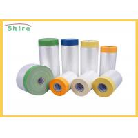 House Painting Masking Film Plastic Masking Film Polythene Sheeting Protective Film Manufactures