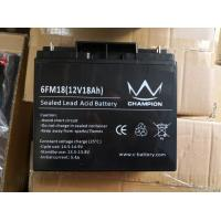 Sealed Lead Acid Battery 12v 18ah Deep Cycle Battery For Solar UPS Inverter Manufactures