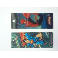 Custom Plastic 3D Lenticular Bookmarks Printing With 3D Effect CMYK Printing Manufactures