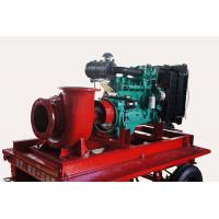 Diesel powered water pumps by CUMMINS engine for flood control Manufactures