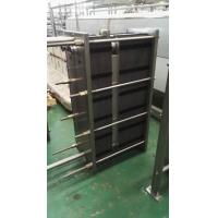 China 1000L / H Two-Section Type Plate Heat Exchanger Φ51 Material Diameter on sale