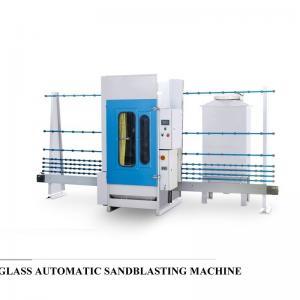 Professional Auto Glass Edging Machine , Vertical Sandblasting Glass Equipment Manufactures