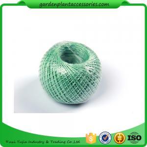 100M Length Twine Jute Garden Plant Ties , Blue Flexible Garden Tie Manufactures