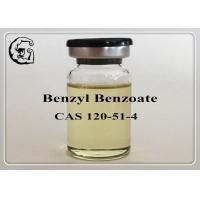 Safe Organic Steriods Solvents Injectable Anabolic Steroids Medical Grade Benzyl Benzoate 120-51-4 Manufactures