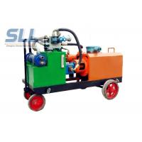 Variable Output Hydraulic Grout Pump / High Pressure Grout Pump Easy Operate Manufactures