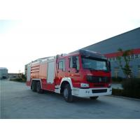 High Spraying Water Tanker Fire Truck With Mercedes Actros 3344 Chassis Manufactures
