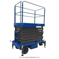Quality High - Strength Mobile Scissor Lift Electrical Hydraulic For Material Handling for sale