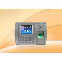 3.5 Inch TFT LCD Fingerprint biometric access control devices With Webserver , SSR Manufactures