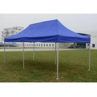 Diamond Blue Canvas Pop Up Gazebo 3x6 , Portable 3m X 6m Waterproof Gazebo Tent Manufactures