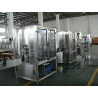 0.37kw Pure / Mineral Water Filling Machine , Bottle Diameter 130mm - 170mm Manufactures
