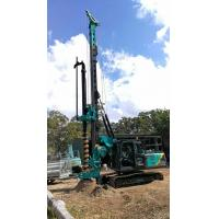 Multi - functional Hydraulic Piling Rig Machine , CFA Construction Borehole Pile Equipment Max Torque 80KNm Manufactures