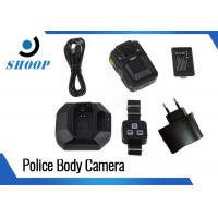 """33MP 2.0"""" HD Body Camera Accessories , 140 Degree Police Body Mounted Cameras Manufactures"""