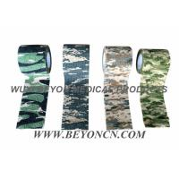 Camouflage Cohesive Wrap Non Woven Bandage For Military Use Wrapping Rifles Manufactures