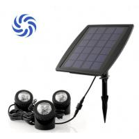 150 Lumens Super Bright Solar Powered Garden Spotlights 4500K - 5500K For Illumination Manufactures