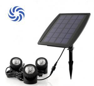 150 Lumens Super Bright Solar Powered Garden Spotlights 4500K - 5500K For Illumination Manufactures