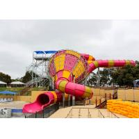 Medium Tornado Water Slide Commercial Extreme Water Slides For Gigantic Aquatic Park Manufactures