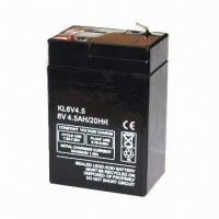 6V Sealed Lead-acid Battery, OEM Orders are Welcome Manufactures