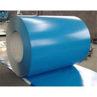 Hot Rolled Galvalume Steel Coil ASTM A653 GB 1mm Thickness 1250mm Width Sky Blue PVDF coils for Roof  Manufactures