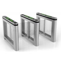 Auto Reset Bi-Direction Supermarket Swing Gate Barrier Pedestrian Turnstile Manufactures