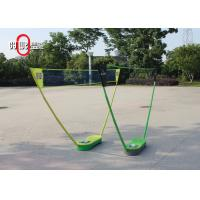 Quality Travel PP / PC Folding Badminton Set 70 * 30 * 12 CM Size Easy To Handle for sale