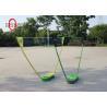 Travel PP / PC Folding Badminton Set 70 * 30 * 12 CM Size Easy To Handle Manufactures
