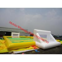 inflatable water soccer field inflatable soccer field inflatable soccer pitch for sale Manufactures