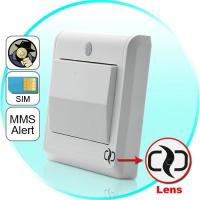 HD Spy Camera Light Switch with GSM Remote Control (Motion Detection, GSM MMS Video Alarm) Manufactures