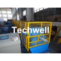 Galvanized Steel Sheet Square Rainwater Downpipe Roll Former For 80mm, 100mm Or 120mm Coil Width Manufactures