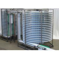 Buy cheap Electric Worm Conveyer Spiral Conveyor Systems C Type Vertical Lifting from wholesalers