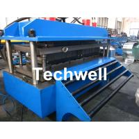 Polyurethane Sandwich Panel Production Line For Color Steel With PLC Touch Screen Control Manufactures