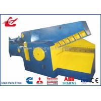 Buy cheap Metal Hydraulic Alligator Shear 120 Ton Cutting Force With Safety Cover from wholesalers